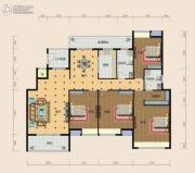 南方梅园4室2厅2卫197平方米户型图