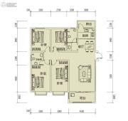 鑫缘贵都4室2厅2卫156平方米户型图