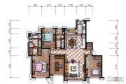 东港第3室2厅1卫158平方米户型图