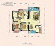 凯富南方鑫城3室2厅2卫0平方米户型图