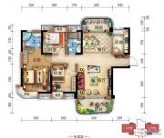 宜昌碧桂园3室2厅2卫128平方米户型图