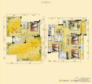 远达天际上城4室2厅3卫141平方米户型图