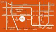 富罗恩斯广场交通图