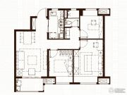 万科尚都荟3室2厅1卫85平方米户型图