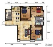 丽都家园3室2厅1卫120平方米户型图