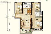 碧桂园.凤凰湾3室1厅1卫0平方米户型图
