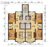 玉龙湾2室2厅1卫94平方米户型图