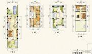 万达西双版纳国际度假区2室2厅4卫129平方米户型图