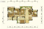 北京城建龙樾熙城4室2厅2卫127平方米户型图