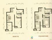 美林・尚东一号2室2厅1卫82平方米户型图