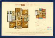 星海・滨江首府4室2厅2卫125平方米户型图