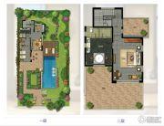 华凯南燕湾2室2厅2卫169平方米户型图