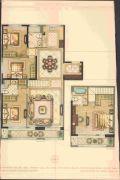 华鸿・瑞安府4室2厅3卫173平方米户型图