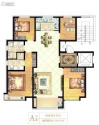 天正・和平里4室2厅2卫136平方米户型图