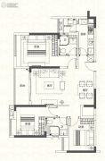 奥园香雪华府3室2厅2卫99平方米户型图