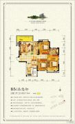 太一・御江城3室2厅2卫127平方米户型图