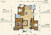 荣德・棕榈阳光3室2厅2卫137--139平方米户型图