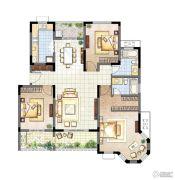 农房・英伦尊邸3室2厅2卫130平方米户型图