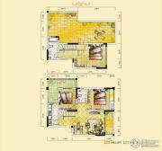 远达天际上城3室2厅2卫117平方米户型图