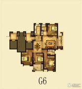 瑞仕豪庭4室2厅2卫140平方米户型图