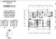 绿海湾花园5室2厅2卫79平方米户型图