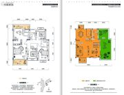 金牛国际社区5室3厅4卫223平方米户型图