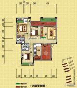 光瑞江都华宸3室2厅2卫101平方米户型图