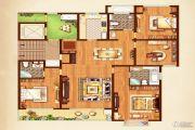 荣记玖珑湾4室2厅3卫185平方米户型图