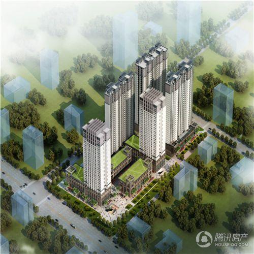 长投景城·汉口年华效果图