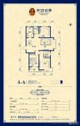 良城国际二期御景3室2厅2卫125--127平方米户型图