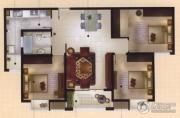 城置御水华庭3室2厅1卫113平方米户型图