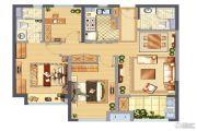 中骏柏景湾3室2厅2卫91平方米户型图