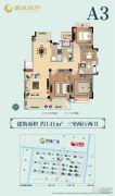 南通国城�Z府3室2厅2卫0平方米户型图