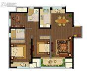 融创玉兰公馆3室2厅2卫112平方米户型图