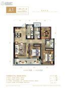 绿城留香园3室2厅2卫0平方米户型图