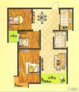 万正龙城3室2厅1卫114平方米户型图