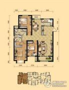 盛泽伯爵山3室2厅2卫125平方米户型图