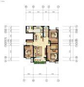 嘉亿国际3室2厅1卫125--128平方米户型图
