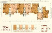 嘉泰华府3室2厅2卫77--119平方米户型图