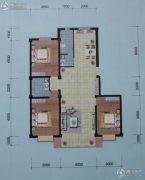 左岸・智慧城3室2厅2卫120平方米户型图