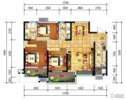 远大中央公园3室2厅2卫112--123平方米户型图