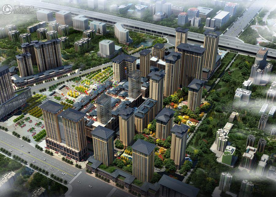 太奥广场北区住宅鸟瞰图