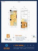 阳光儿童城2室2厅1卫100平方米户型图