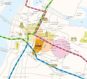 百瑞景中央生活区六期交通图