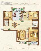 重邦康城4室2厅1卫152平方米户型图