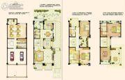 阿维侬庄园4室2厅3卫396平方米户型图