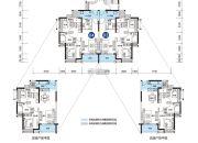 远洋香缇(商铺)3室2厅1卫89平方米户型图