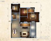 东泓福源国际3室2厅2卫0平方米户型图