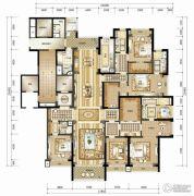 南宁华润幸福里6室3厅5卫418平方米户型图