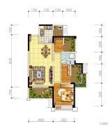 宏创・龙湾半岛3室2厅1卫89平方米户型图
